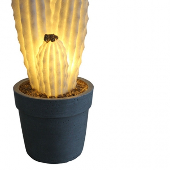 Potted Cactus Lighting